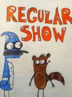 Regular Show Mordecai and Rigby by eszalkowski229