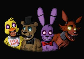 Five nights at Freddy's by DrZombieFox