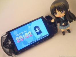 Mio's Own PSP Game! by kookykonata