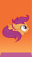 Scootaloo iphone 5 wallpaper by upbeatanime