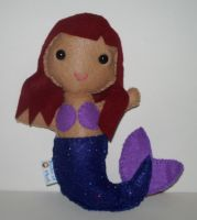 Mermaid Plushie by kiddomerriweather