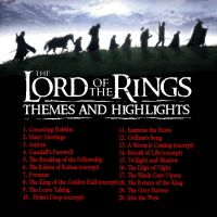Lord of the Rings: Themes and Highlights Insert by pastorgavin
