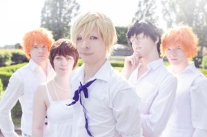 Ouran in White by StockholmCosWave