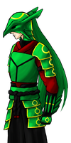 Dragon Warrior - SMV - Grass by solidfalcon