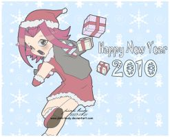 Happy New Year 2010 by pink-hudy