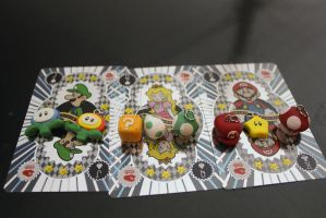 Super Mario Charms by Kaijere