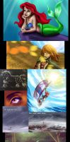 Drawing Compilation by LivingAliveCreator