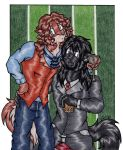 Dante + Kaiden - Contest Prize Art by BlushBunnyC3