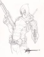 Deadpool commission by ChrisOzFulton