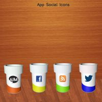 App Social Icons by SearchProjects