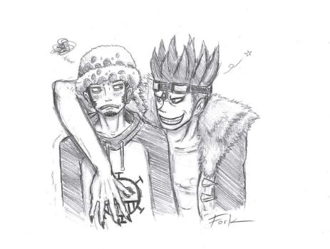 The hell are you doing...? [One Piece Shippings] by Vivi1995