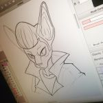 Greaser Sphynx WIP by LordressViper