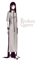 The Broken Queen by Auro-Cyanide