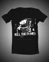 Kill The Punks Tshirt by kidswithscissors