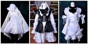 Maid Cosplay Dresses by Mcosplay