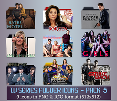 TV Series - Icon Pack 5 by apollojr