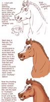 HORSE SHADING TUTORIAL MADE BY A DUMMY by Freudentanz