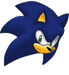 Sonic's head by Layt-TH