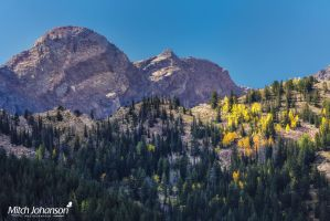 Domedary and Sunrise Peaks by mjohanson