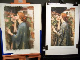 Waterhouse copy end of day 1 by Soirsce