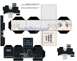ALLEN WALKER D.GRAY-MAN by animepapertoys