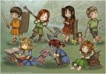 TES Kiddies by Isriana