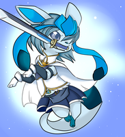 Sayaka Glaceon by Lustrous-Dreams