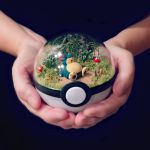 Snorlax Poke Ball Terrarium by The-Vintage-Realm