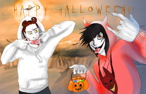 Happy halloween! by Coffee-For-The-Dead