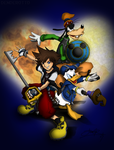 Kingdom Hearts by DENDEROTTO