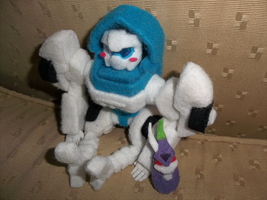 MTMTE Tailgate Plushie by shibara-draws-mecha