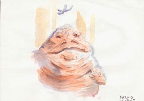 Jabba the Hutt by Forsaken91