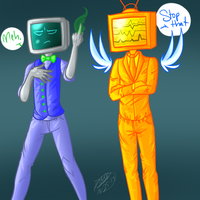 New Guys~ S.I. and B.I. by RoomsInTheWalls