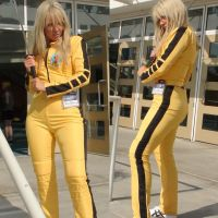 The Bride from Kill Bill series at LB Comic Con by trivto