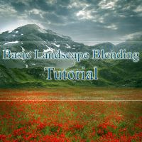 Basic Landscape Blending Tut by FrozenStarRo