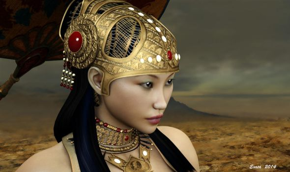 Queen of Egypt by exata