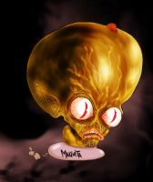Saucer Men By Makinita by Makinita