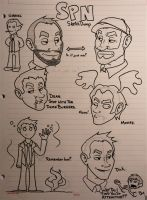 SPN SketchDump by xiam47
