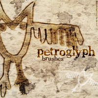 Petroglyph brushes for PS by sleepwalkerfish