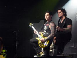 Zacky V with Synyster G by StormSikkness