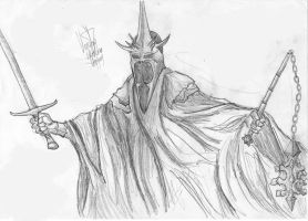 Witch King of Angmar by Kito9