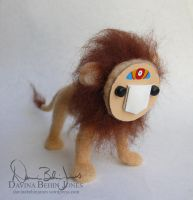Lion Face by FamiliarOddlings