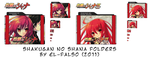Shakugan no Shana II Folders by eL-Falso