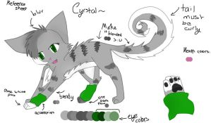 Crystal Reference Sheet by SilverKitti