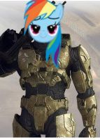 Rainbow Dash is the Master Chief by Mcrfan343