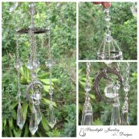 Egyptian Crystal Dragon Sun-catcher by LadyStarrlight