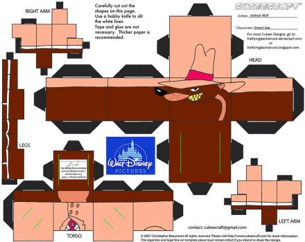 Dis51: Smart @$$ Cubee by TheFlyingDachshund