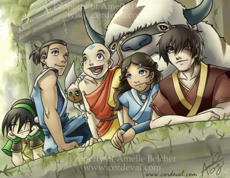 Avatar Season 3 is made of WIN by Amelie-ami-chan