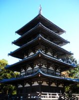 Japanese Building by Phillysoul11