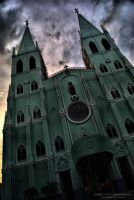 San Sebastian Church HDR by alpreddd